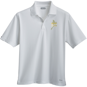 Men's Moreno Text Micro Short Sleeve Polo
